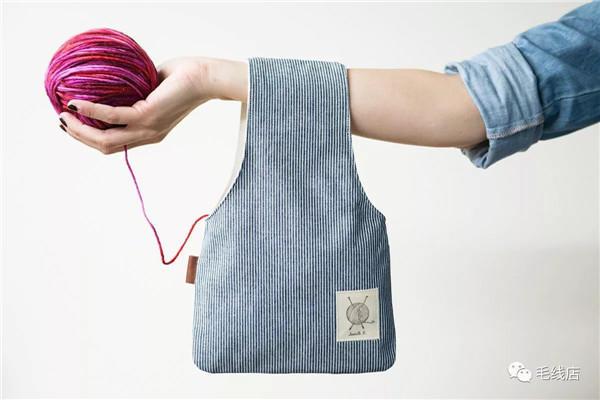 布艺毛线收纳袋