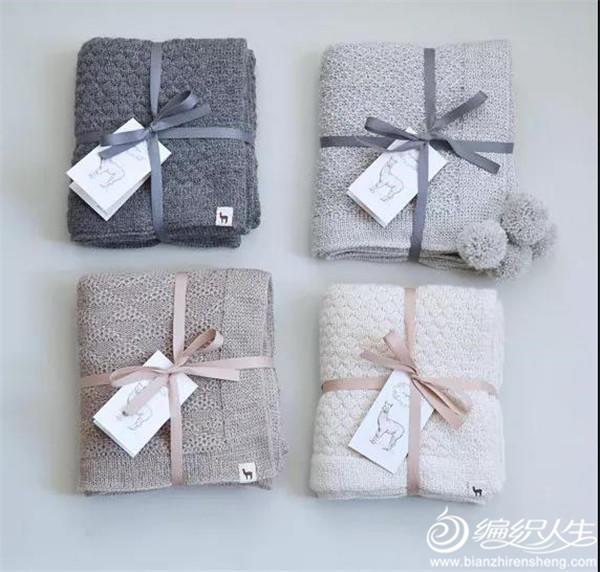 机织毛线毯