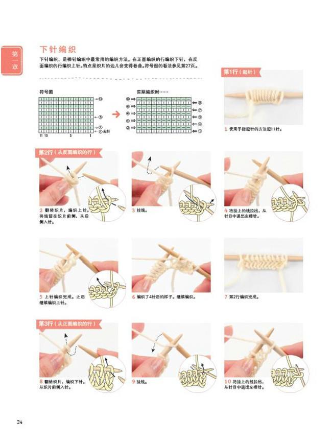 简单明了 最新版棒针钩针编织基础(套装共2册)