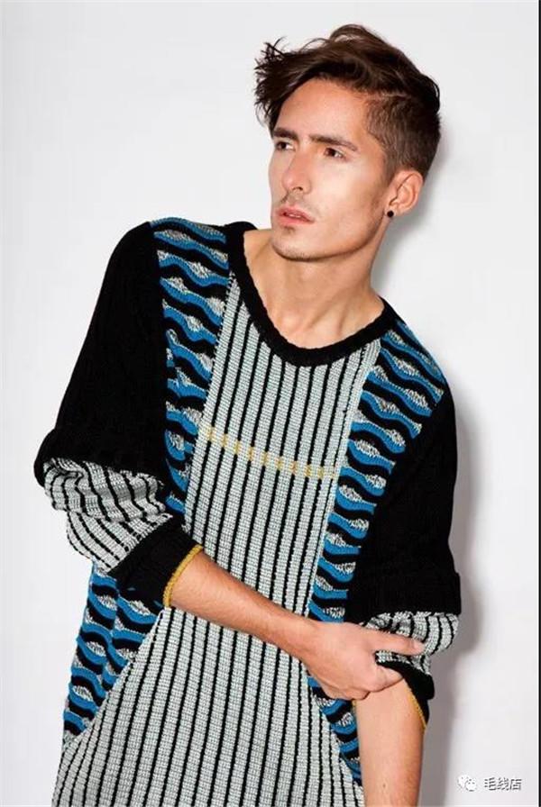 机织男士毛衣