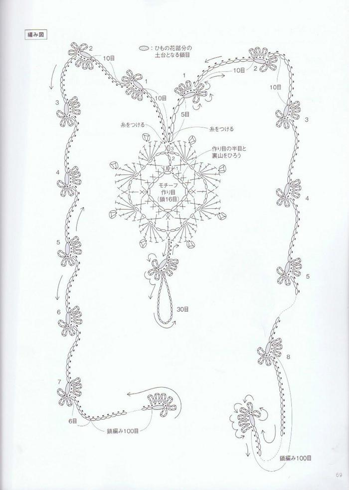 钩针蕾丝装饰