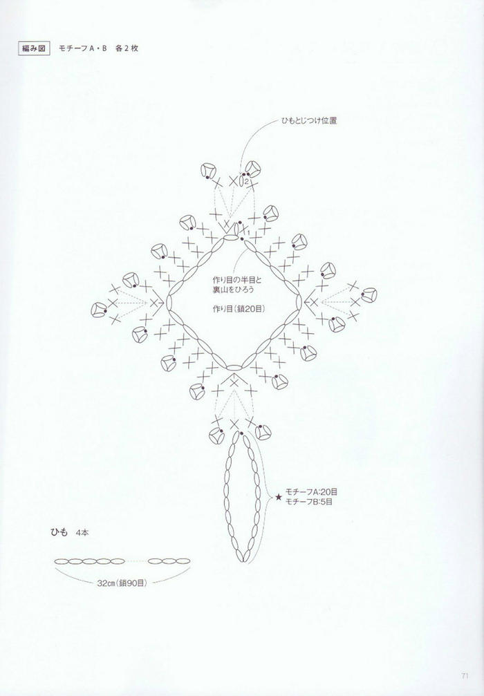 蕾丝钩针装饰
