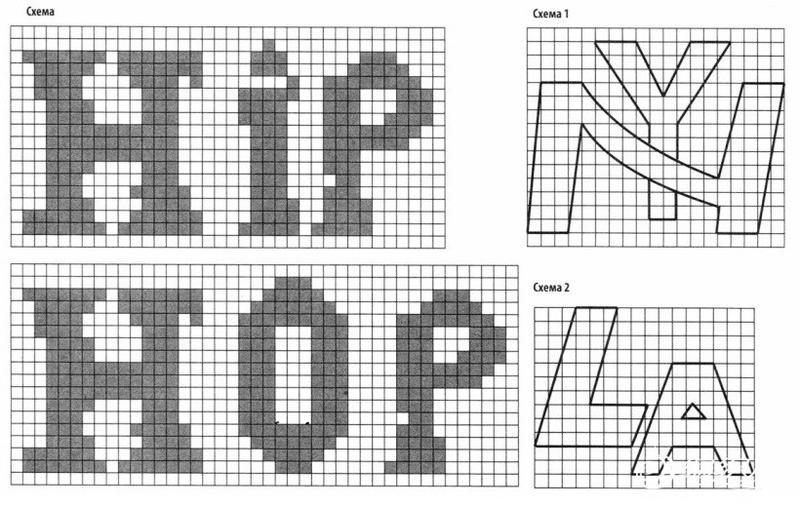 毛衣字母图案