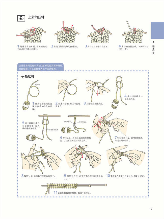 一看即懂的棒针/钩针编织符号