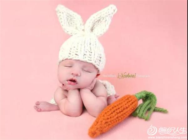 宝宝毛线帽