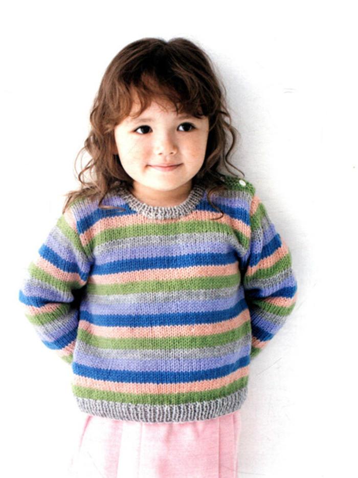小朋友的可爱毛衣(手编LESSON)