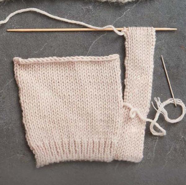 双层门襟编织法