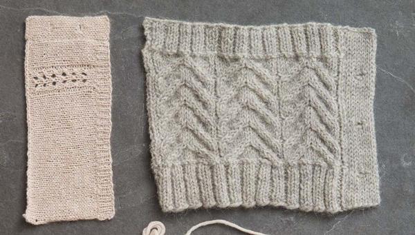 棒针门襟织法