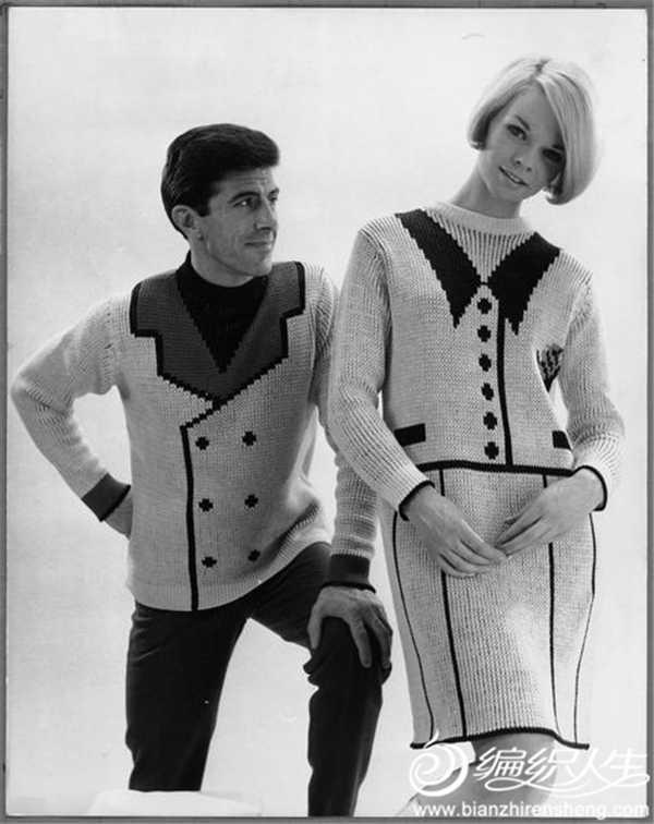1966年 英国针织服装设计师John Carr Doughty
