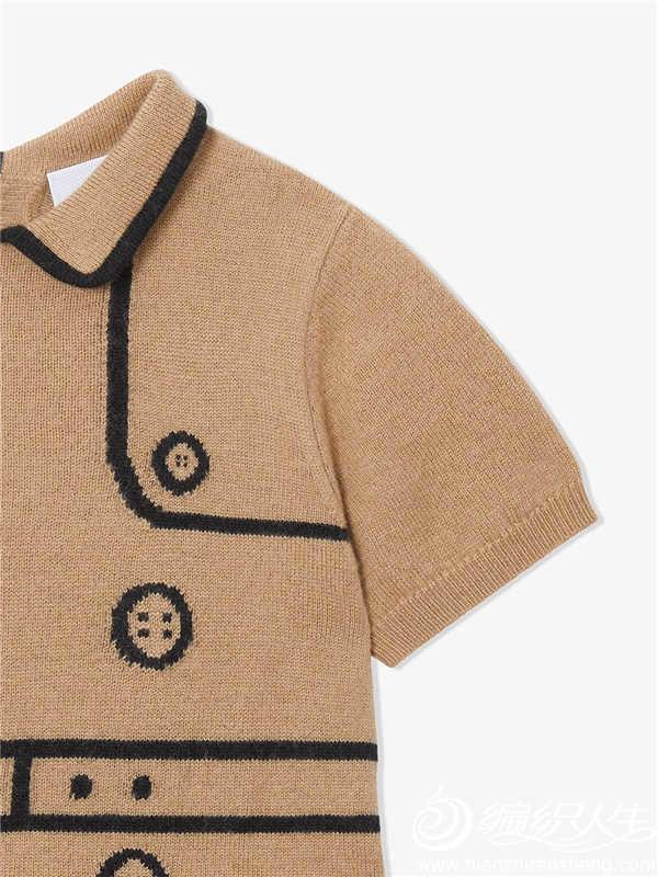 Burberry 巴宝莉儿童羊毛羊绒风衣