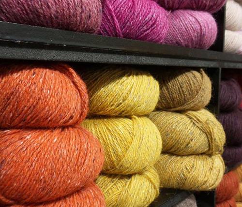 彩点羊毛羊驼线