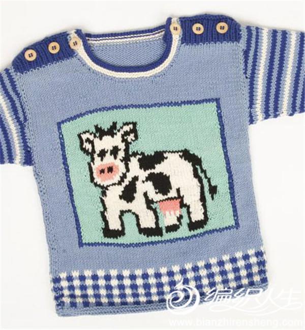 宝宝肩开扣毛衣