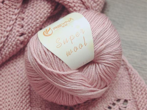 蕾娜REYNA Super Wool中粗混纺美丽诺羊毛