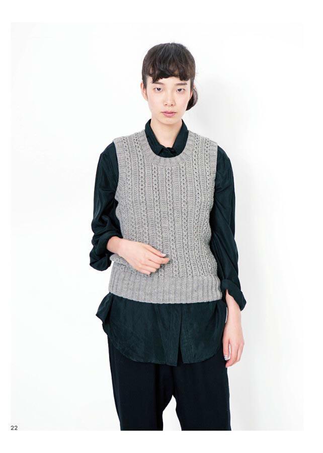 来自24色毛线的手编毛衣和小物