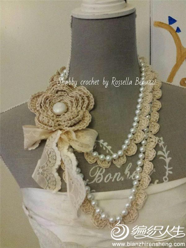 復古風鉤珠結合項鏈