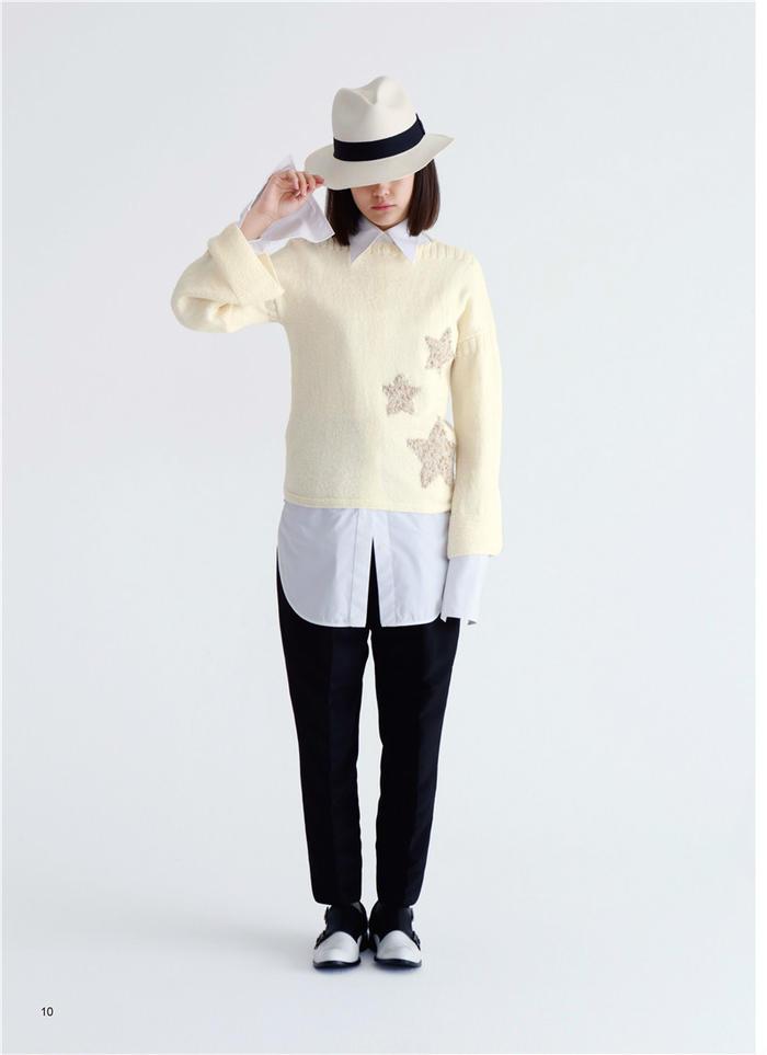 现在在就想穿的手编毛衣  日本编织大师SAICHIKA作品集