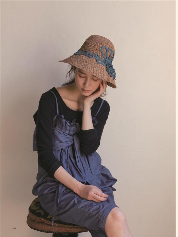 女士钩针帽子