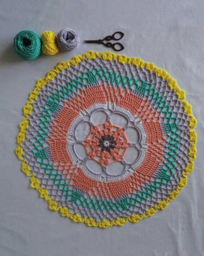 美丽的曼陀罗钩织
