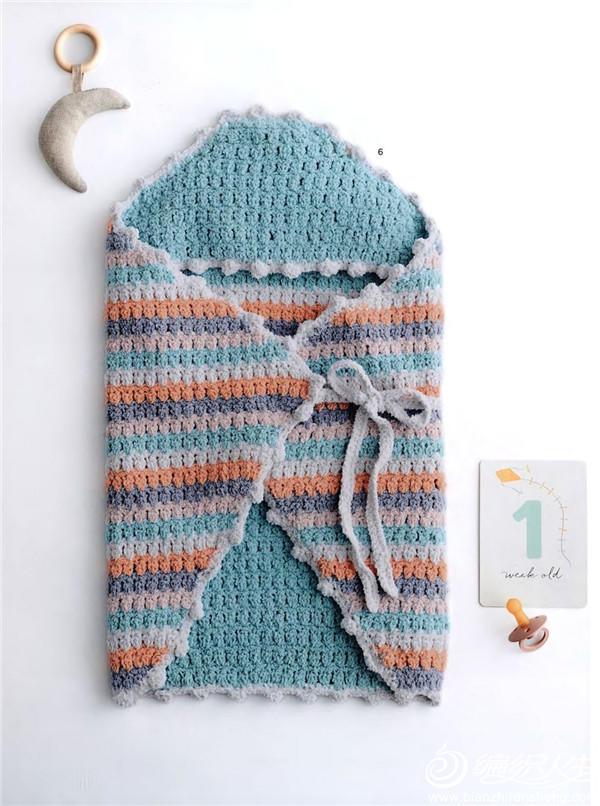 婴幼儿钩针睡袋