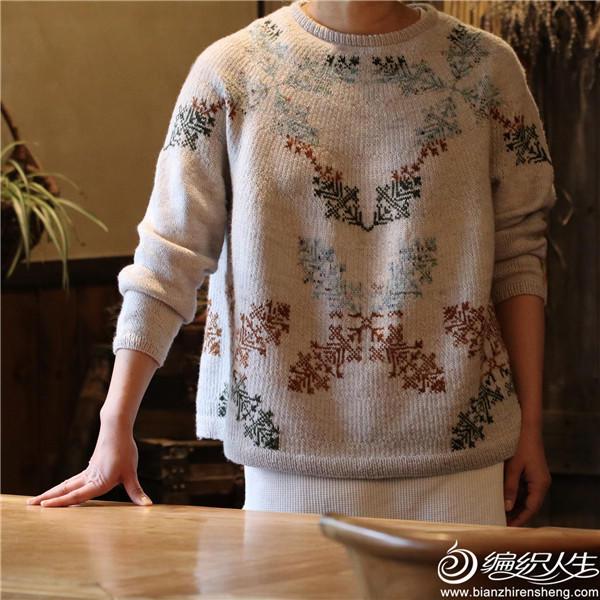 Anu sweater欧瑞克、雨林提花毛衣