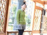 【转载】【心灵印记】青木——复古小清新麻花衣