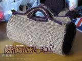 【转载】一只包包(附上编织图)