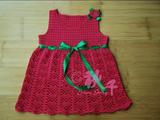 【转载】【秋千手工】---莓妁 送干女儿的撞色裙衣