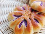 [转载]【紫薯花朵面包】高颜值的紫薯面包做法(附带紫薯馅做法)