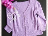 【转载】紫云英--九分袖开衫