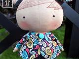 [转载]【乔】tilda娃娃——甜心小妞