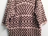 【转载】Gina- 提花毯式外套编织方法