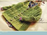 1605——起航——男童复古V领开衫