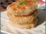 【转载】[转载]糯米和藕,曲不离口——焦香糯米藕饼