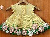 [转载]花儿朵朵宝宝套装之一  宝宝花裙