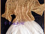 紫色连衣裙*手工~~~【穿裙子的季节】~~~~~亚麻拼花衣