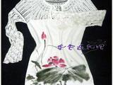 紫色连衣裙*手工~~~~【苏州河】~~~~~~手绘衣