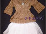 紫色连衣裙*手工~~~~【Touchlove】~~~~~~春秋套头衫
