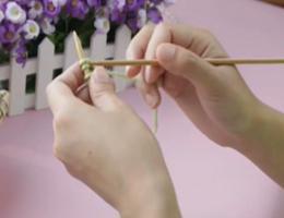 编织人生视频学堂第4集--边织边起针法、手指绕线起针法