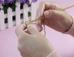 编织人生视频学堂第5集--单螺纹起针法