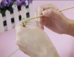 编织人生视频学堂第6集---双螺纹起针法