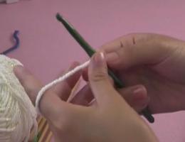 编织人生视频学堂第8集--别锁辫子单螺纹起针