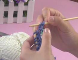 编织人生视频学堂第9集----别锁辫子双螺纹起针
