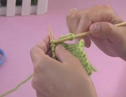 编织人生视频学堂第10集---伏针收针的方法(平收)