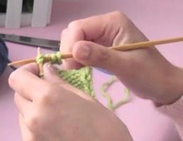 编织人生视频学堂第13集----两针并一针