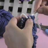 编织人生视频学堂第16集--单螺纹缝衣针收针