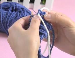 编织人生视频第17集----双螺纹缝衣针收针