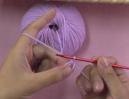 编织人生视频学堂第75集----钩针的绕环起针法