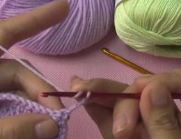 编织人生视频学堂第82集----内钩长针的编织方法