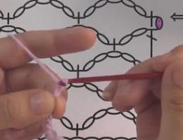 编织人生视频学堂第88集-----5个辫子的渔网针