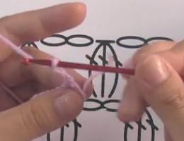 编织人生视频学堂第92集-----3针并1针的枣形针